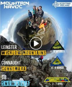 Ventures - Weekend Away - Mountain Havoc Leinster 4-6 Oct @ Leinster - venue TBC